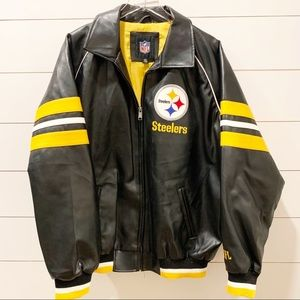 Pittsburgh Steelers NFL Team Jacket Size Large